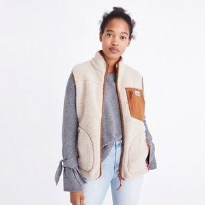 Madewell x Penfield Mattawa Fleece Vest